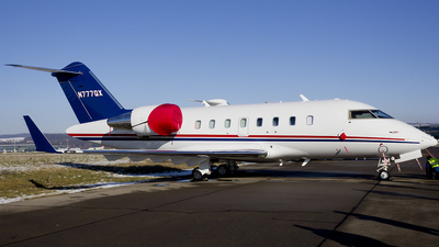 N777QX - Bombardier CL-600-2B16 Challenger 605 - Private