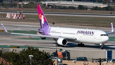 N581HA - Boeing 767-33A(ER) - Hawaiian Airlines