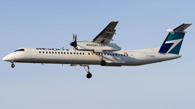 A picture of CGDEN - De Havilland Canada Dash 8400 - WestJet - © Aaron Miles