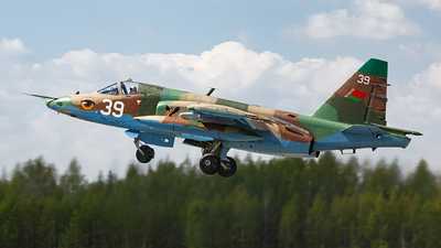 39 - Sukhoi Su-25 Frogfoot - Belarus - Air Force
