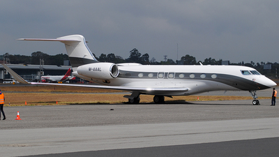 M-AAAL - Gulfstream G650 - Private