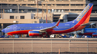 A picture of N269WN - Boeing 7377H4 - Southwest Airlines - © Alexander Owen