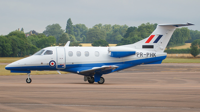 PR-PHK - Embraer 500 Phenom 100E - United Kingdom - Royal Air Force (RAF)