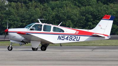 N5492U - Beechcraft Debonair 35-C33 - Private