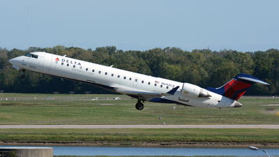 N642CA - Bombardier CRJ-701ER - Delta Connection (GoJet Airlines)