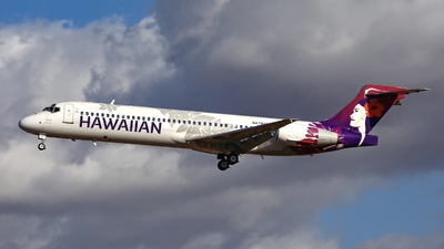 A picture of N479HA - Boeing 71722A - Hawaiian Airlines - © Emerald City Aviation