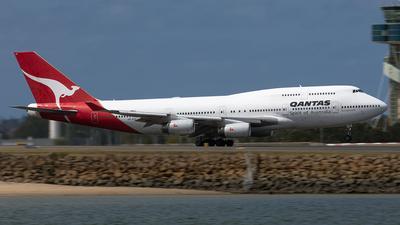 VH-OJC - Boeing 747-438 - Qantas