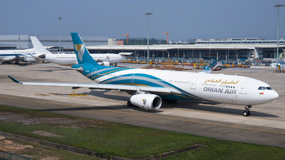 A picture of A4ODB - Airbus A330343 - Oman Air - © TANG MIN XIN