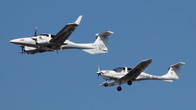 HA-DAJ - Diamond DA-42 Twin Star - Pannon Air Service