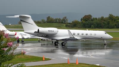 N848JA - Gulfstream G550 - Private