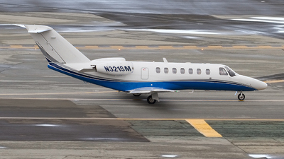 N321SM - Cessna 525B CitationJet 3 - Private
