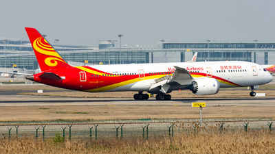 A picture of B1138 - Boeing 7879 Dreamliner - Hainan Airlines - © EVAesen29