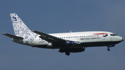 G-BGDF - Boeing 737-236(Adv) - British Airways