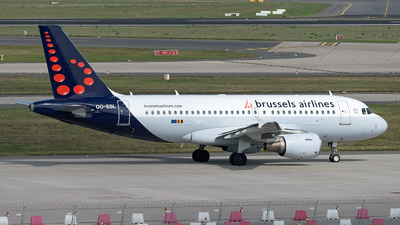 A picture of OOSSL - Airbus A319111 - Brussels Airlines - © Sebastian Thiel