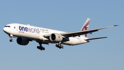 A7-BAF - Boeing 777-3DZER - Qatar Airways