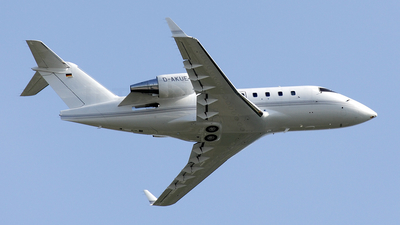 D-AKUE - Bombardier CL-600-2B16 Challenger 601-3R - Challenge Air