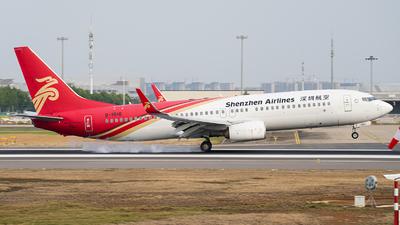 B-1516 - Boeing 737-87L - Shenzhen Airlines