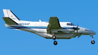 A picture of N204AF - Beech C99 Airliner - Ameriflight - © Hector Rivera-HR Planespotter