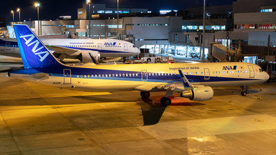 A picture of JA112A - Airbus A321211 - All Nippon Airways - © Yukio023