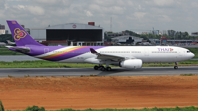 HS-TEU - Airbus A330-343 - Thai Airways International