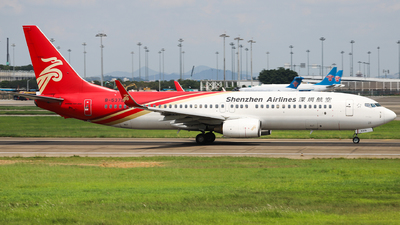 A picture of B5379 - Boeing 7378AL - Shenzhen Airlines - © Captain Lorca