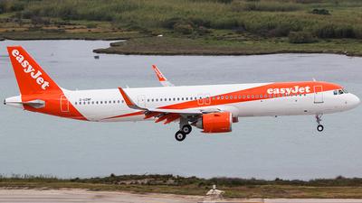 G-UZMF - Airbus A321-251NX - easyJet
