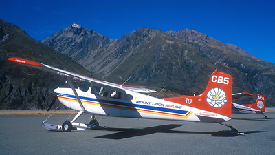 ZK-CBS - Cessna 185A Skywagon - Mount Cook Airlines