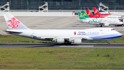 B-18707 - Boeing 747-409F(SCD) - China Airlines Cargo