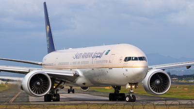HZ-AK14 - Boeing 777-368ER - Saudi Arabian Airlines