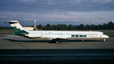 N833RA - McDonnell Douglas MD-83 - Reno Air