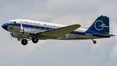 N25641 - Douglas DC-3C - Legend Airways Foundation