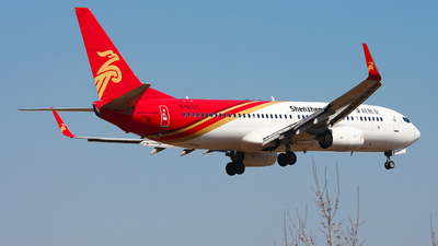 A picture of B5737 - Boeing 73787L - Shenzhen Airlines - © Northrop_L