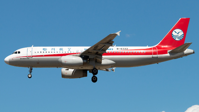 B-6322 - Airbus A320-232 - Sichuan Airlines