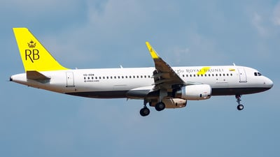 V8-RBW - Airbus A320-232 - Royal Brunei Airlines