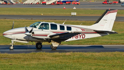 PH-BYD - Beechcraft 58 Baron - KLM Flying School