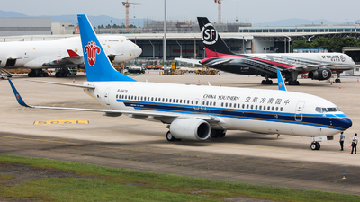 B-5676 - Boeing 737-81B - China Southern Airlines