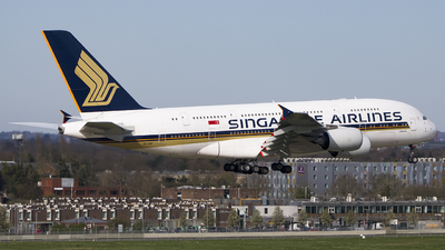 A picture of 9VSKM - Airbus A380841 - Singapore Airlines - © Ervin Eslami | UK Jets