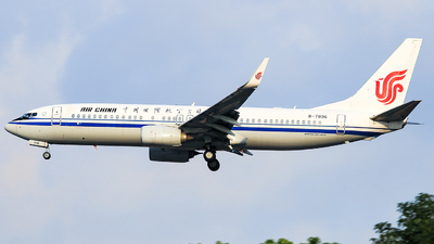 B-7896 - Boeing 737-89L - Air China
