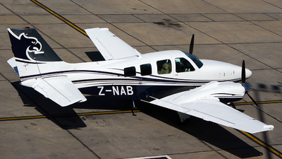Z-NAB - Beechcraft 58 Baron - Halsted Aviation