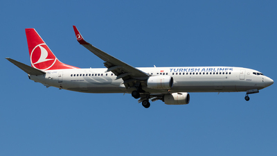 TC-JYC - Boeing 737-9F2ER - Turkish Airlines