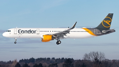 A picture of DATCB - Airbus A321211 - Condor - © Jan Rosskamp