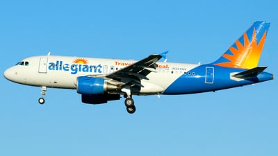 N327NV - Airbus A319-111 - Allegiant Air