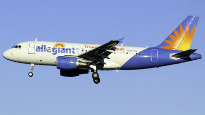 A picture of N327NV - Airbus A319111 - Allegiant Air - © nicholastoto