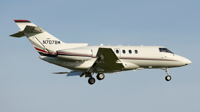 N707BM - Raytheon Hawker 800XP - Private