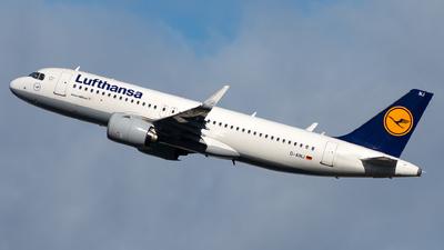 A picture of DAINJ - Airbus A320271N - Lufthansa - © Jonathan Mifsud
