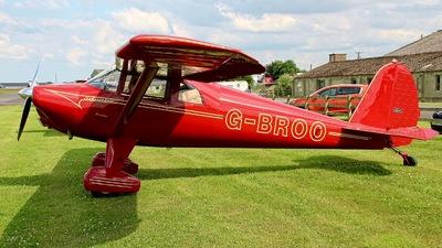 G-BROO - Luscombe 8E - Private