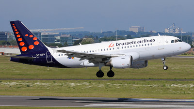OO-SSV - Airbus A319-111 - Brussels Airlines