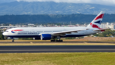 G-YMMD - Boeing 777-236(ER) - British Airways