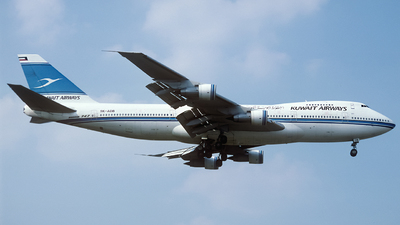 9K-ADB - Boeing 747-269B(M) - Kuwait Airways