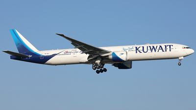 9K-AOJ - Boeing 777-369ER - Kuwait Airways